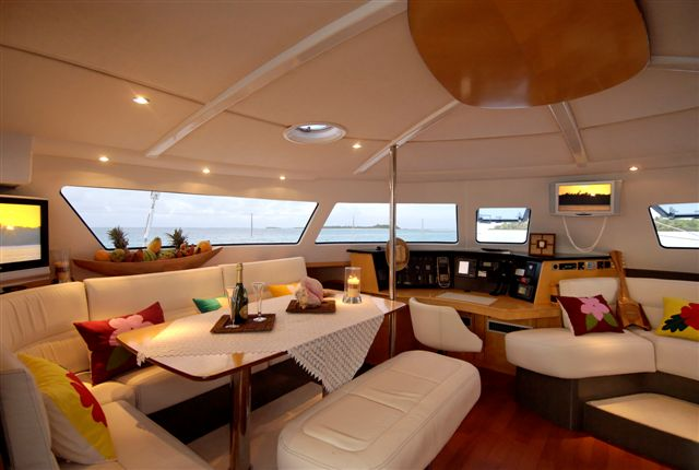 ... Fountaine Pajot's catamarans fleet. This luxurious yacht combines open ...