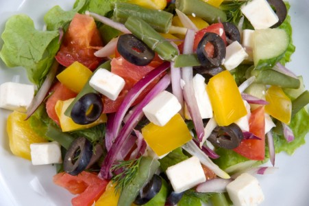 GREEK SALAD - FLAVORS OF THE AEGEAN