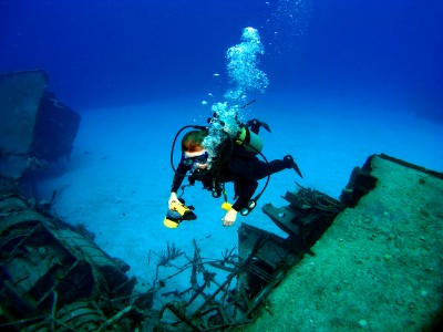 TOP WRECK DIVING - THIRD PLACE