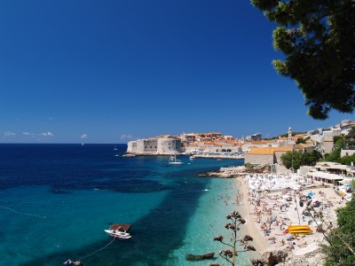 CROATIA - DUBROVNIK AND LOCAL BEACHJ