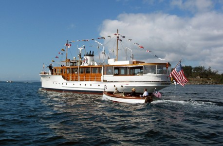 92' Classic Fantail Motoryacht OLYMPUS
