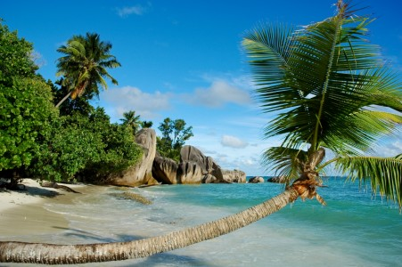 D'ARGENT BEACH - LA DIGUE -SEYCHELLE ISLANDS
