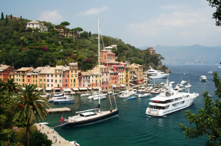 PICTURE POSTCARD TOWN OF PORTOFINO