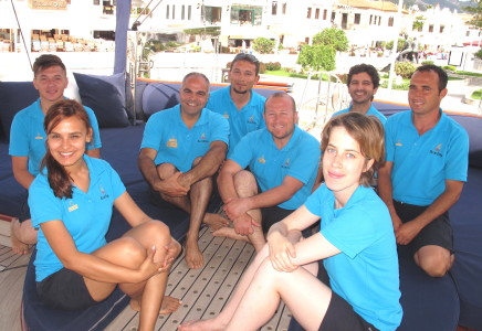 BLUE EYES - Capt Mehmet & Crew