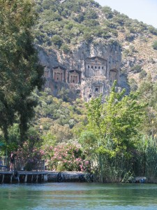 LYCIAN TOMBS - DALYAN RIVER