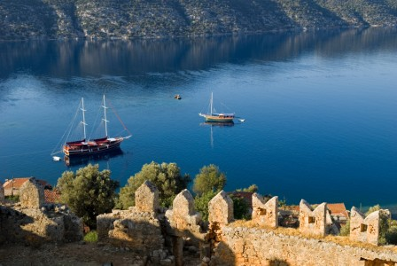 KEKOVA RUINS - TURQUOISE COAST OF TURKEY