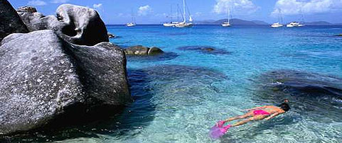 Snorkeling Virgin Gorda Baths British Virgin Islands