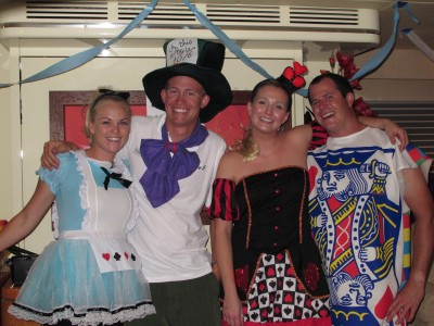 THE LADY J - Paul Clarke & Crew ALICE IN WONDERLAND party
