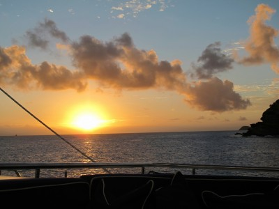 Antigua Yacht Charter Show Sunset