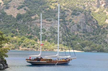 TURKEY - QUEEN OF DATCA - YACHT CHARTER MARMARIS BODRUM DODECANESE