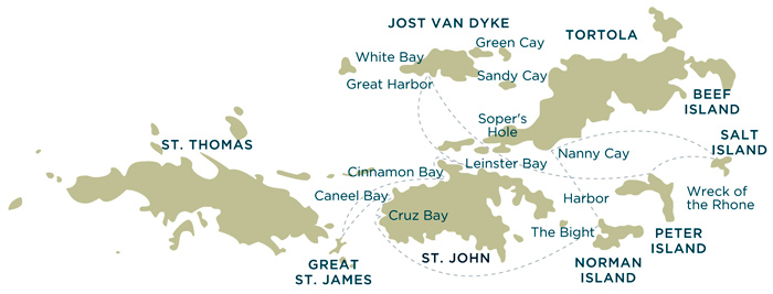 british virgin islands us virgin islands yacht charter cruising sailing