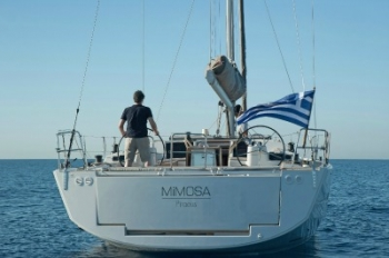 Greek Island Sailing Yacht MIMOSA 13